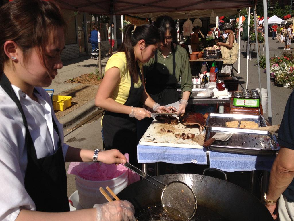 Sun Wah BBQ at Argyle Night Market